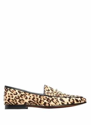 Edelman %100 Kadife Loafer Ayakkabı Leopar